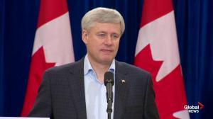 "Harper says smoking marijuana impacts people's health ""infinitely worse"" than cigarettes"