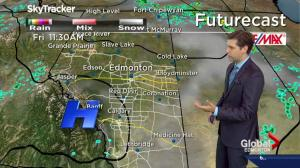 Edmonton Weather Forecast: July 27