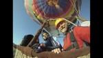 Dan Jorgensen skydives from balloon in California