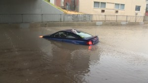 Flash flooding catches drivers off guard