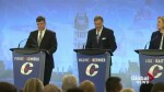 Conservative leadership debate in Quebec City