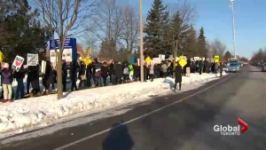 Ontario PC leader, community members call for moratorium on school closures