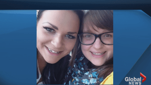 Family and friends grieve death of two sisters