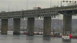 Champlain bridge in Montreal nears end of life 30 years too soon