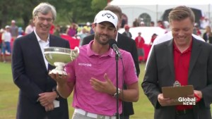 Canadian Adam Hadwin wins the 2016 Rivermead Cup, finishes RBC Canadian Open at 1-under