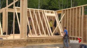 Wet spring weather sets Moncton home contractor behind by 3 weeks