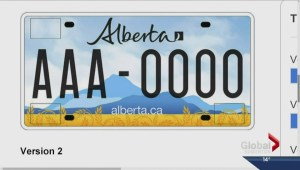 PC leadership candidates on licence plates