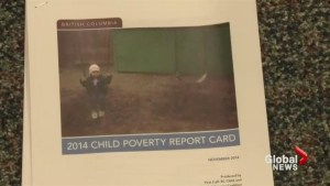 Child poverty report card gives BC a failing grade