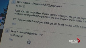 AirBnb customer burned by bogus host