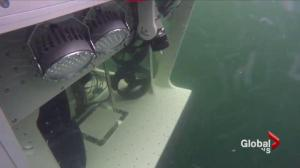 New B.C. made submersible makes it's first dive