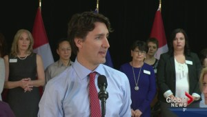 Trudeau discusses pipelines and promises in Calgary