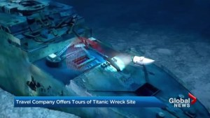 Tourists line up for costly trips to Titanic wreck