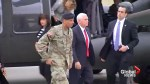 Mike Pence visits demilitarized zone between North, South Korea