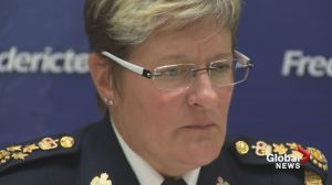 Fredericton Police Chief talks to media after off duty suspensions