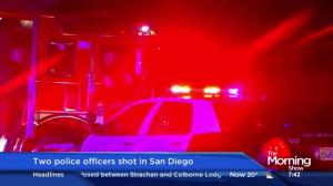 1 police officer dead, another injured in San Diego shooting