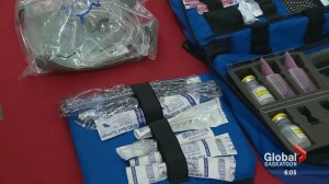 Saskatoon Fire Department armed with naloxone to battle fentanyl-related overdoses