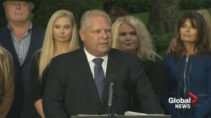 Doug Ford enters mayoral race with mixed emotions