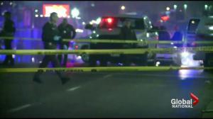 Two Ferguson cops shot amid protests