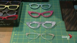 Vancouver custom eyeglass framermaker one of few