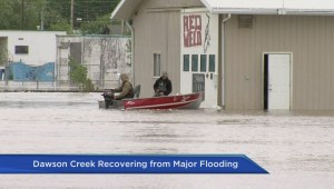 Dawson Creek residents assess flood damage to homes