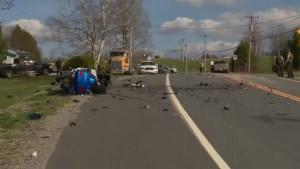 2 dead in crash southeast of Quebec City