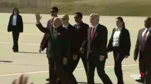 Indian PM mobbed by supporters upon arrival in Toronto