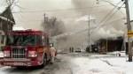 Residents return home after firefighters get industrial blaze under control