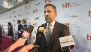 "TIFF Red Carpet: Actor Steve Carell from the film ""Foxcatcher"""