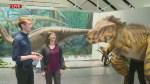 Vicky the Velociraptor comes to Winnipeg