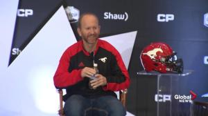 Dave Dickenson responds to 'win with some class' incident