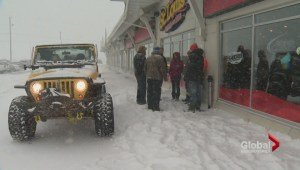 Jeep Club helps out those stranded by the storm