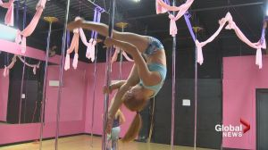 Moncton pole dancer raises awareness for domestic violence