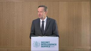 MI6 chief says UK is facing 'unprecedented' threat