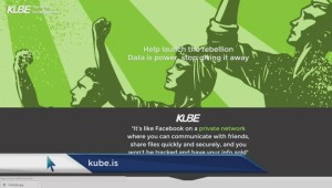 KUBE to take on Facebook