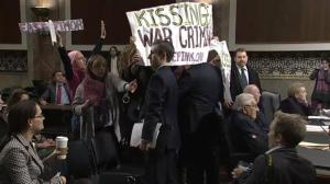 John McCain  berates protesters, calls them 'low-life scum' during Senate hearing