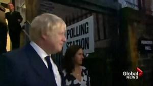 Boris Johnson not in running to be British PM
