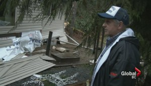 Qualicum Beach couple lose everything after mudslide