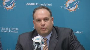 Allergic reaction forces controversial Dolphins pick to miss introductory press conference