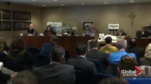 Battle brews over gender identity policy at Catholic School Board meeting