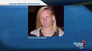 Woman's remains found near Leduc