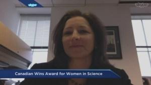 Canadian researcher wins prestigious award