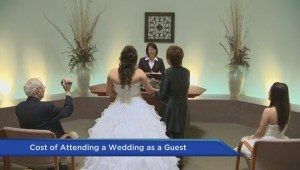 Attending weddings can be stressful for the pocketbook