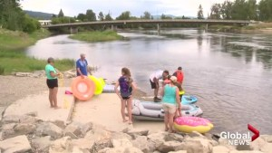 Recreational activity on Okanagan river becoming clean-up burden
