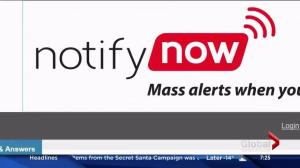 Notifynow test happening Wednesday in Saskatoon