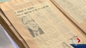 Scrapbook helps Saskatoon family remember veteran
