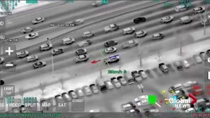 Spike in crime prompts Calgary police to release dramatic helicopter footage of 'reckless' car thefts