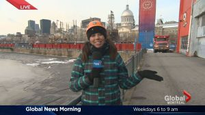 Global News Morning weather forecast: Thursday, December 8