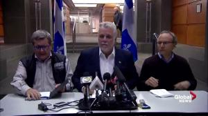 'Today Quebec was hit by terrorism:' Premier Philippe Couillard on mosque shooting