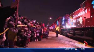 CP Holiday Train rolls into Edmonton Thursday night