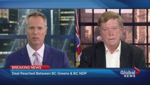 NDP and Greens make a deal for minority government
